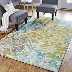Mohawk Home Aurora Radiance Abstract Floral Printed Area Rug