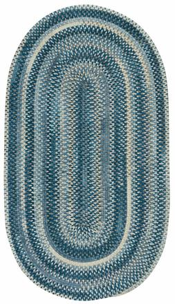 Capel Rugs Alliance Soft Chenille Polyester Braided Oval Rug