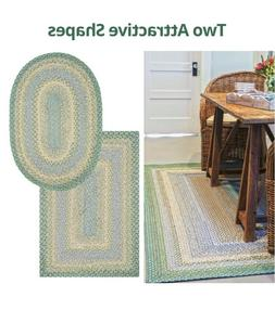 Baja Blue Braided Area Rug By Homespice Decor. Choose Your S