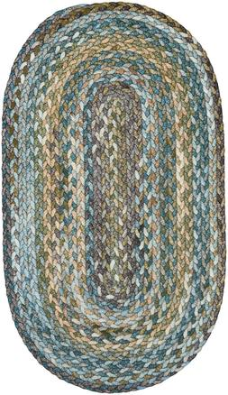 Capel Rugs Berkshire Country Cottage Braided Oval Area Rug M