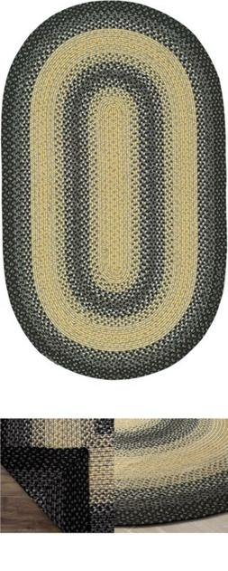 Safavieh Braided Collection BRD311A Hand-woven Reversible Ar