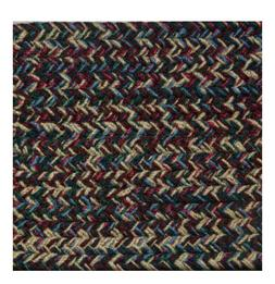 BURGUNDY, BLUE, GREEN, BEIGE BRAIDED AREA RUGS BY COLONIAL R
