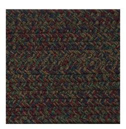 BURGUNDY, BLUE, GREEN, BROWN BRAIDED AREA RUGS BY COLONIAL R