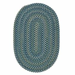 capetown crest braided area rug