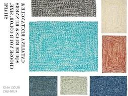 CATALINA BRAIDED RUGS & RUNNERS BY COLONIAL MILLS. ALL SIZES