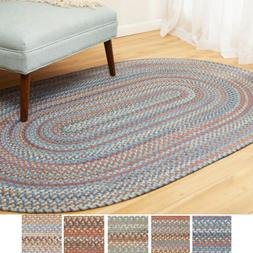 Cherry Hill Wool Braided Rug For Home Decor | Reversible | M