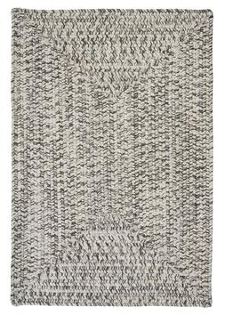 Corsica Silver Shimmer Braided Area Rug/Runner by Colonial M