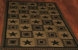 Country Star Jute Braided Rugs by IHF Rugs