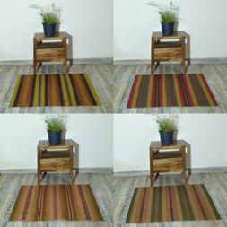 Doormat Small Braided Rug Anique Smart Handwoven Living Room