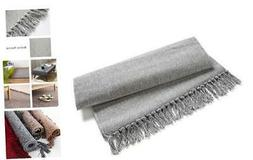 Eanpet Braided Rug Cotton Area Rug Hand Woven Reversible Flo