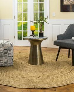 Natural Area Rugs Elsinore Large Jute Braided Rug for Living