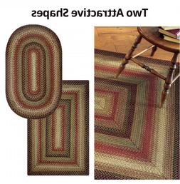 Gingerbread Jute Braided Area Rug By Homespice Decor. Choose