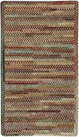 Capel Rugs Habitat Chenille Polyester Braided Rectangle Rug