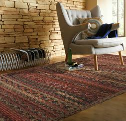 Capel Rugs Harborview Cross Sewn Wool Blend Cinnabar Country
