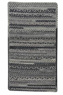Capel Rugs Harborview Cross Sewn Wool Blend Metal Greys Coun