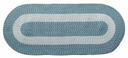 """Home Accent Transitional Braided Oval Rugs 24""""LX60""""W Large L"""