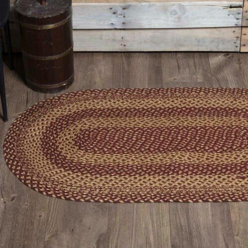 100 percent natural eco friendly braided rug