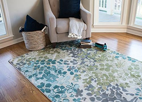 Mohawk Home Radiance Abstract Floral Rug,