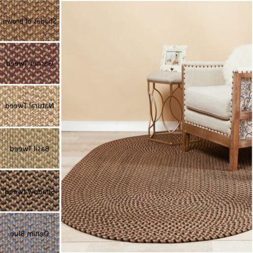 indoor outdoor washable braided rug made in