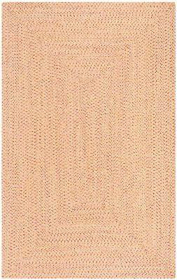 Safavieh Reversible Braided RED / GREEN Area Rug 5' x 8'