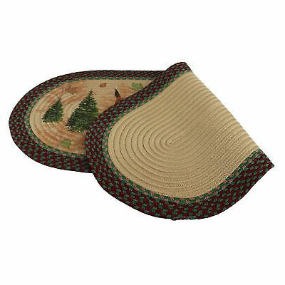 River's Braided Rug, 48 Inch Oval,