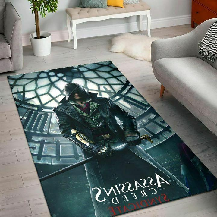 rugs for living room assassins creed gaming