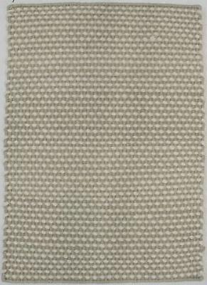 zero count wool braided small 2x3 contemporary