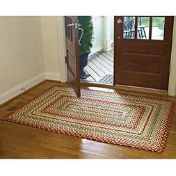 "Mill Village Braided Rectangle Rug - 48""x72"""