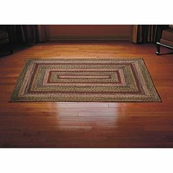 *NEW* IHF Apple Cider Braided Jute Rugs Rectangle BR-245 - F