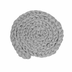 newborn photography props baby hand woven twisted