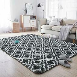 Noahas Soft Area Rugs for Bedroom Living Room Shaggy