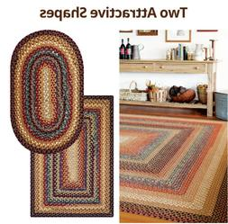 Peppercorn Braided Area Rug By Homespice Decor. Choose Your