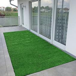 Ottomanson R350-2X5 Evergreen Collection Indoor/Outdoor Turf