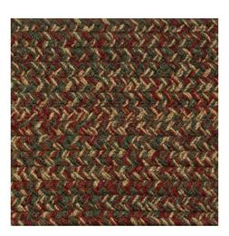 RED, GREEN, CAMEL,BROWN, RUST BRAIDED AREA RUGS BY COLONIAL