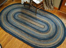 River Shale Braided Area Rug By IHF Rugs. Oval & Rectangle.