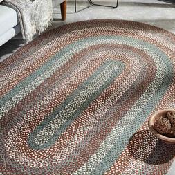 Serenity Braided Area Rug By IHF Rugs. Oval & Rectangle. Man