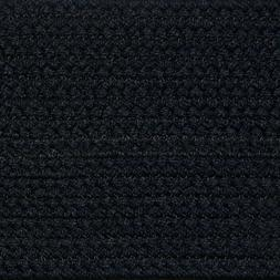 SOLID NAVY BLUE BRAIDED AREA RUGS By COLONIAL RUG-MANY SIZES
