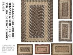 TIBURON BRAIDED RUGS & RUNNERS BY COLONIAL MILLS. ALL SIZES