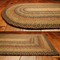 Timber Trail Jute Braided Rugs by HomeSpice Decor