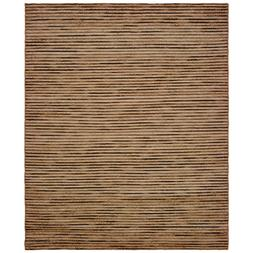 Topanga Natural Braided Coffee / Beige 8 Ft X10 Ft Indoor Ar