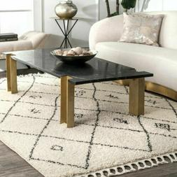 nuLOOM Transitional Chrissy Moroccan Area Rug in Off White