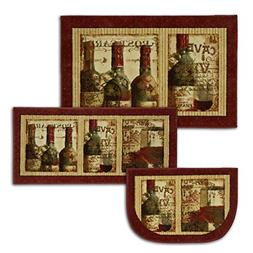 New Wave French Cellar Area Rug Set