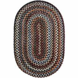 Wool Area Rugs Braided Rug Country Cottage Farmhouse Decor i